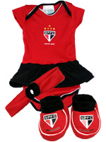 Kit 3 Pe�as Feminino com Body Torcida Baby